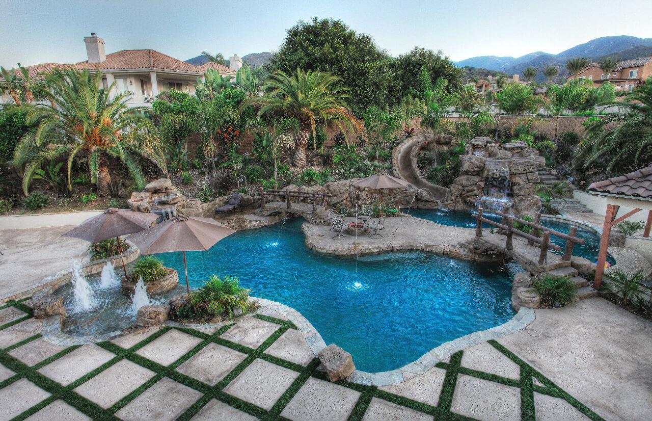 Rock Pool Designs Yorba Linda | Custom Features Irvine