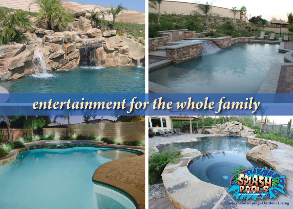 splash pools, swimming pool, family investment