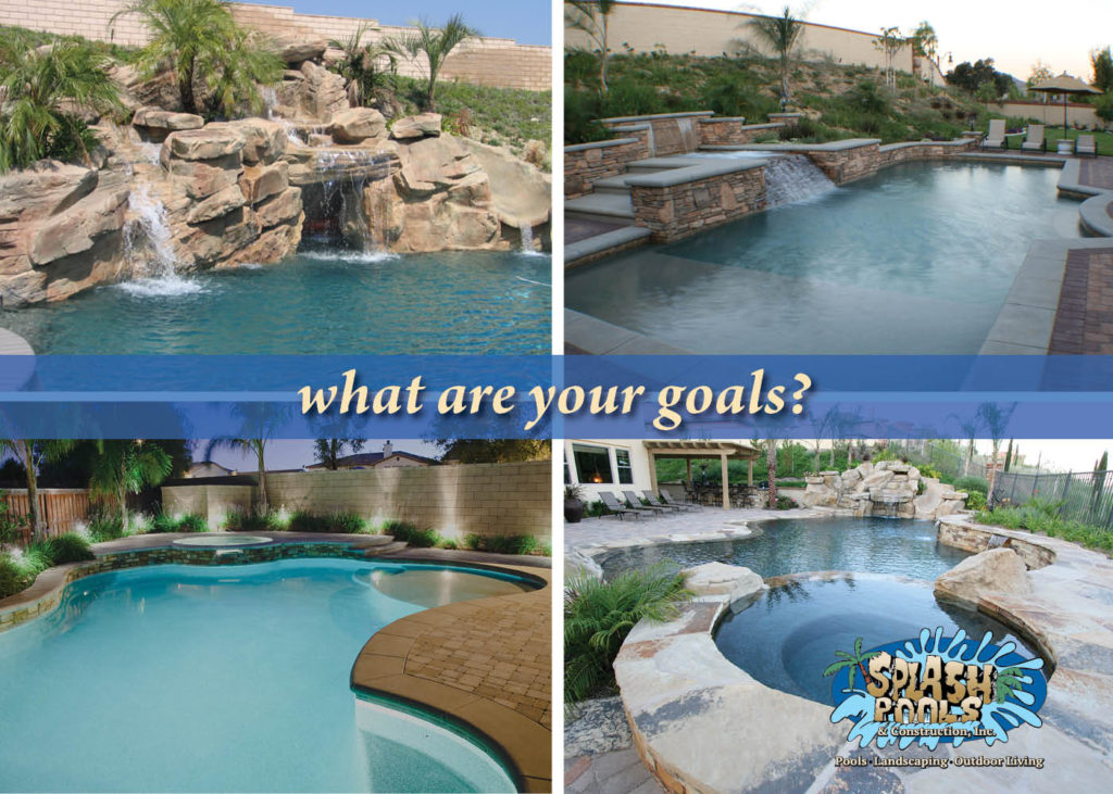 first appointment with pool builder, project goals, backyard design