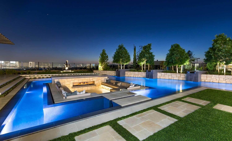 Orange County Pool Builder Award Winning Pool Design
