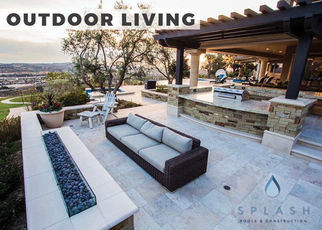 Outdoor Living Areas Orange County Splash Pools Construction